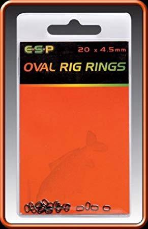 E.S.P. OVAL RIG RINGS, 4,5 MM